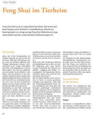 Feng Shui im Tierheim